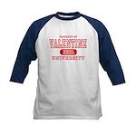 Valentine University Kids Baseball Jersey