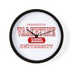 Valentine University Wall Clock