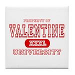 Valentine University Tile Coaster
