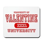 Valentine University Mousepad