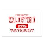 Valentine University Postcards (Package of 8)
