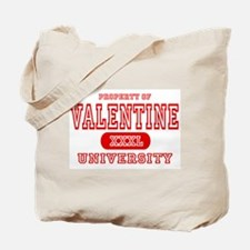 Valentine University Tote Bag