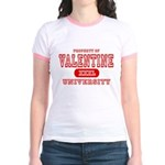 Valentine University Jr. Ringer T-Shirt