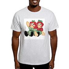 Raggedy Ann & Andy Doll's Ash Grey T-Shirt