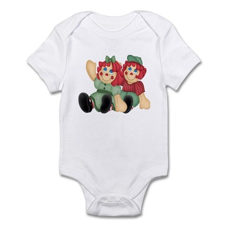 Raggedy Ann & Andy Doll's Infant Bodysuit