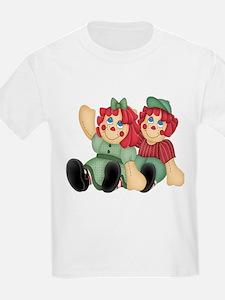 Raggedy Ann & Andy Doll's Kids T-Shirt