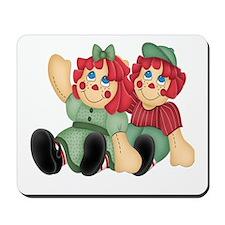 Raggedy Ann & Andy Doll's Mousepad