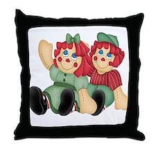 Raggedy Ann & Andy Doll's Throw Pillow
