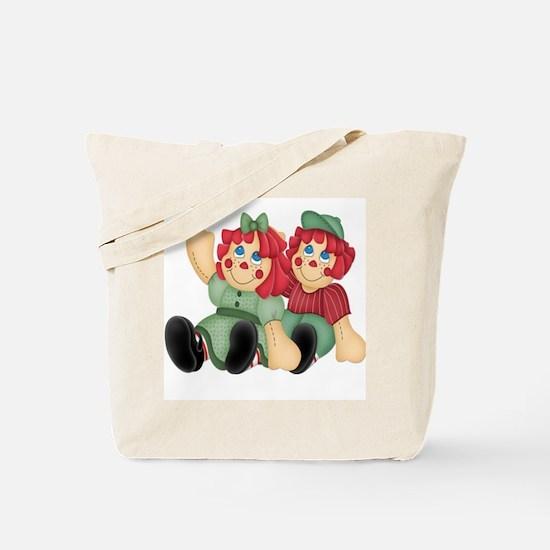Raggedy Ann & Andy Doll's Tote Bag