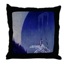 East of the Sun West of the Moon Throw Pillow