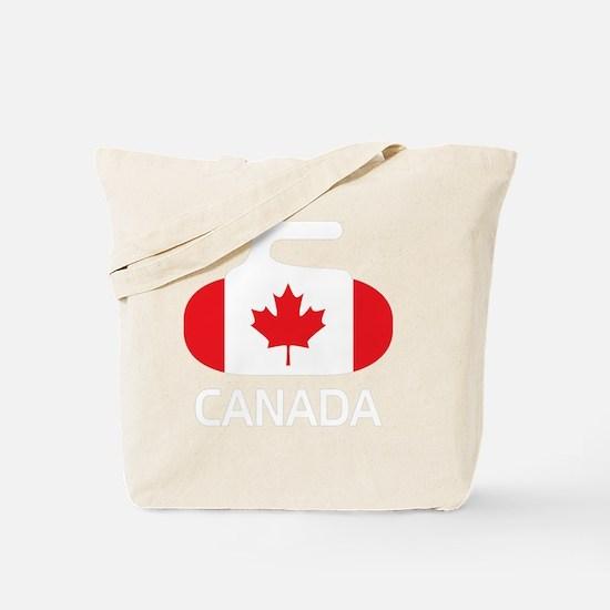 3-curlingCA2 Tote Bag