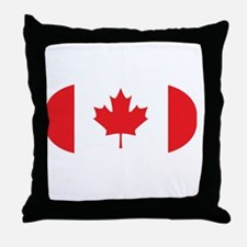 3-curlingCA2 Throw Pillow