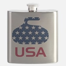 curlingUSA Flask