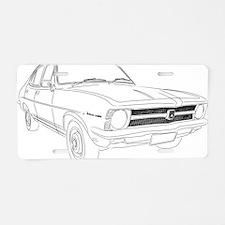 torana play Aluminum License Plate