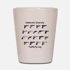 diversity2 Shot Glass