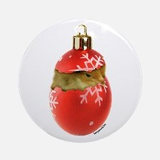 X-mas Chick Ornament (Round)