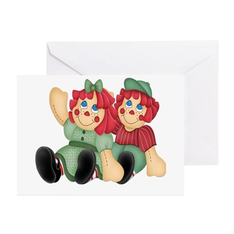 Raggedy Ann & Andy Doll's Greeting Cards (Package