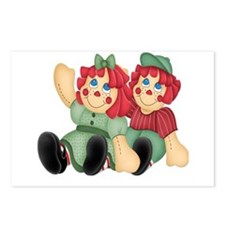 Raggedy Ann & Andy Doll's Postcards (Package of 8)