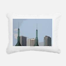 3-Symbolic Of Eastside Rectangular Canvas Pillow