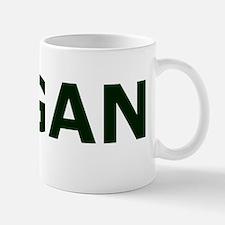 2-vegan black 20 cm Mug