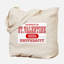 St. Valentine University Tote Bag