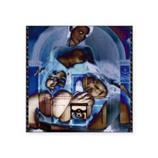 """ourlady Square Sticker 3"""" x 3"""""""