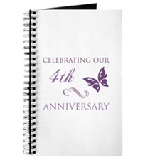 4th Wedding Aniversary (Butterfly) Journal