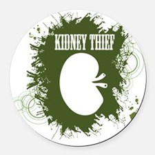 kidney thief 2white Round Car Magnet