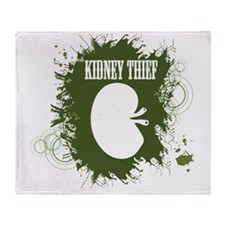 kidney thief 2white Throw Blanket