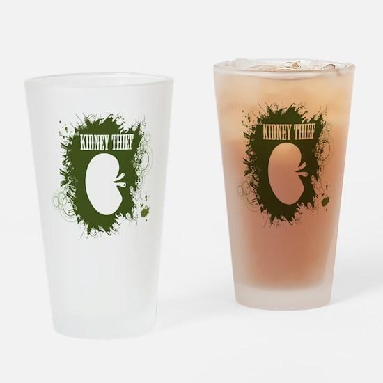 kidney thief 2white Drinking Glass