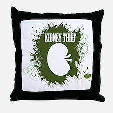 kidney thief 2white Throw Pillow