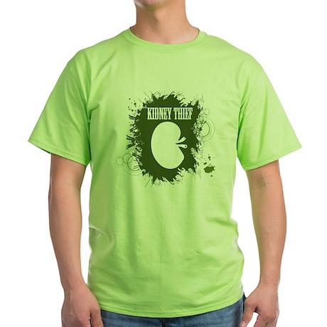 kidney thief 2white Green T-Shirt