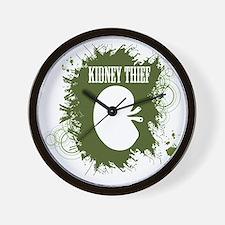 kidney thief 2white Wall Clock