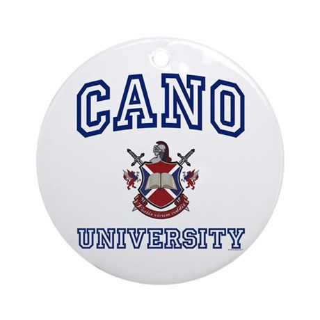 CANO University Ornament (Round)