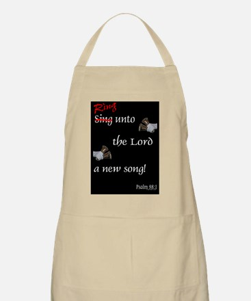 large framed print Apron