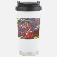 Goldfish - large poster Stainless Steel Travel Mug