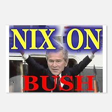 Nix On Bush Postcards (Package of 8)
