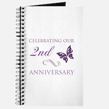 2nd Wedding Aniversary (Butterfly) Journal