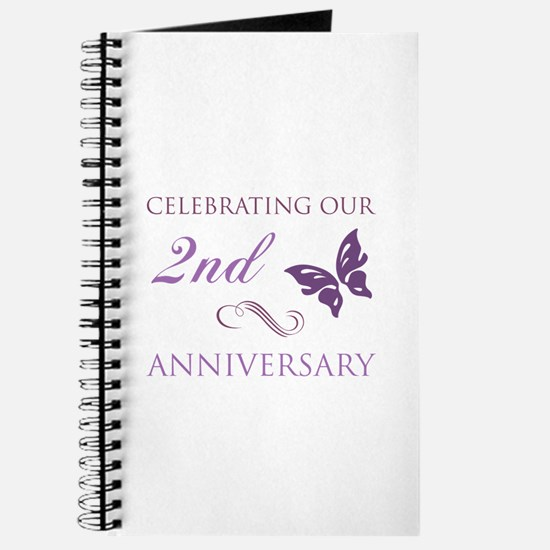 2nd Wedding Aniversary (Butterfly) Journal