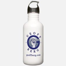 Logo with Web Water Bottle