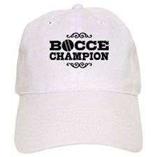Bocce Champion Cap