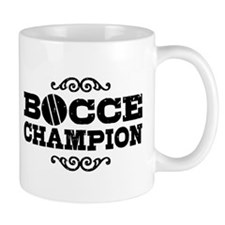 Bocce Champion Small Mug
