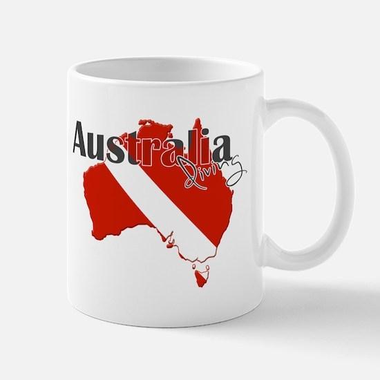 Australia Diver Mug