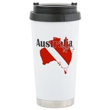 Australia Diver Travel Mug