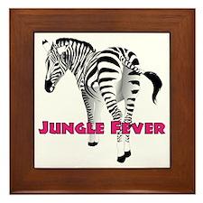 jungle_fever Framed Tile
