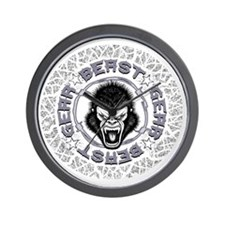 Beast Gear Wall Clock