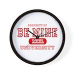 Be Mine University Wall Clock