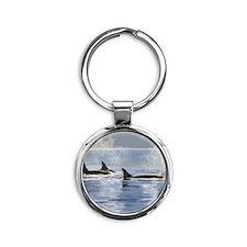 whalesorn Round Keychain
