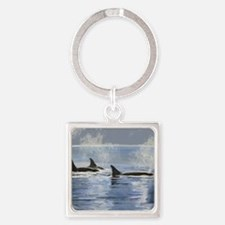 whalesorn Square Keychain