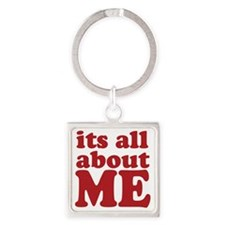 allaboutme Square Keychain